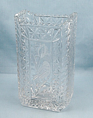 Hofbauer Byrdes Crystal Biscuit Barrel - Replacement Base