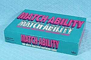 Match-Ability, Cadaco, 1990 (Image1)
