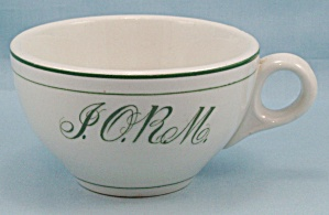 Carr China Co. -  I.O.R.M., Improved Order of Red Men Cup (Image1)