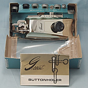 Greist – Buttonhold Stitch Attachment, Style #2 - 1966 (Image1)
