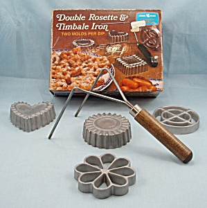 Nordic Ware - Double Rosette – Timbale Irons (Image1)