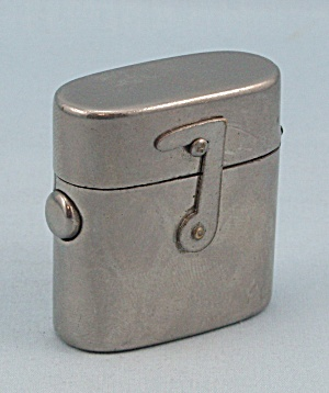Traveling Inkwell, Nickel Plated Traveler, Circa 1910