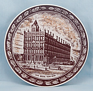 1976 Collector Plate � J.M. Sealts Co � 100th Year (Image1)