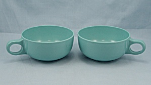 2 Turquoise Cups, Florence Prolon  (Image1)