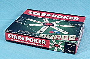 Star Poker Game, Pressman, 1994