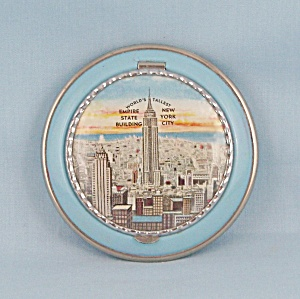 New York City - Souvenir Compact, Enameled