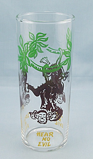 Federal Tumbler � Monkeys - Hear, See, Speak No Evil (Image1)