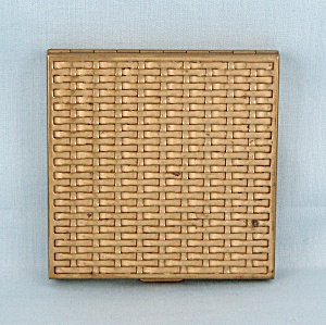 Volupte - 1950's Basket Weave Compact