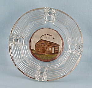 Lincoln's Birthplace, Kentucky- Glass Ashtray	 (Image1)