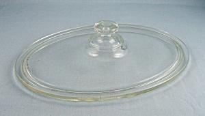Vintage Pyrex Replacement Lid - 642c Or 633c - Oval