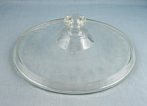 Vintage Pyrex  - Victor Cover -   Etched Lid � No 268	 (Image1)