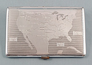 Cigarette Case, Har-Bro, Map Design (Image1)