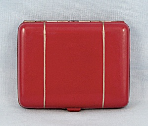 B-Co. � Small Red Enameled Cigarette Case (Image1)