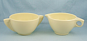 Boonton Cream Pitcher & Open Sugar � Yellow (Image1)