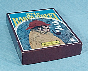 221 B Baker Street Game, Set #1, Hansen, 1977