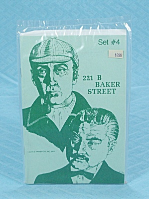 221 B Baker Street Game, Expansion Set #4, Hansen, 1979