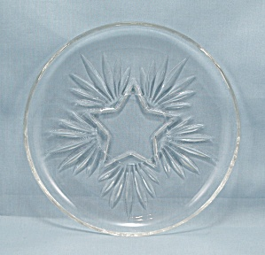 Federal Glass Co., Four - Star Saucers
