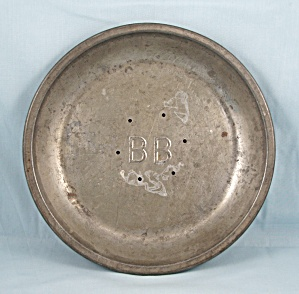 B- B / Blue Bird / Vented Pie Pan #4 (Image1)