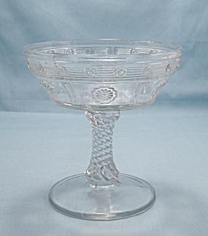 Rosette Jelly Compote, U.S.Glass (Image1)