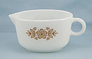 Pyrex, Butterfly Gold - Gravy/Sauce Bowl/Boat (Image1)
