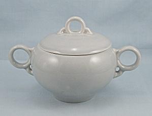 Universal – Ballerina – Covered Sugar Bowl – Dove Gray (Image1)