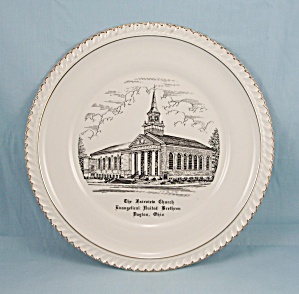 Fairview Church, E. U. B. Dayton, Ohio – Collector Plate (Image1)
