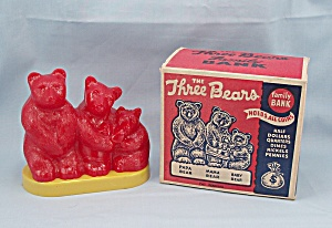 The Three Bears Bank / Original Box / Goldilocks Story on Carton (Image1)