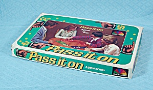 Pass it on Game, Selchow and Righter Co., 1978 (Image1)