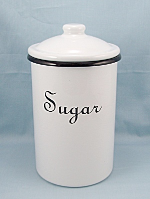 Graniteware Sugar Canister (Image1)