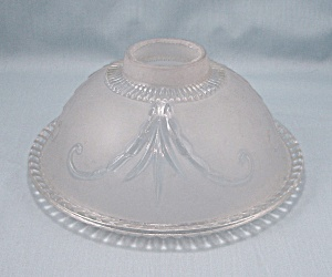 Light Fixture Glass Shade � Frosted To Clear (Image1)