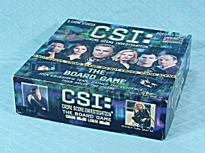 CSI: The Board game, CBS Broadcasting, Inc., 2004 (Image1)
