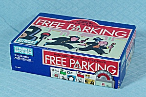 Parker Brothers, Free Parking Game, 1988