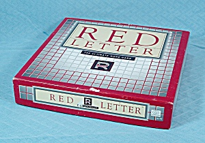 Red Letter, The Ultimate Word Game, The Games Gang, 1989