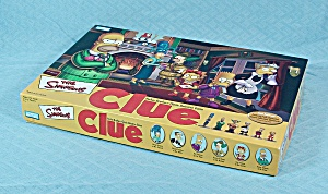 The Simpson's Clue Game, 2nd Edition, Parker Brothers, 2002