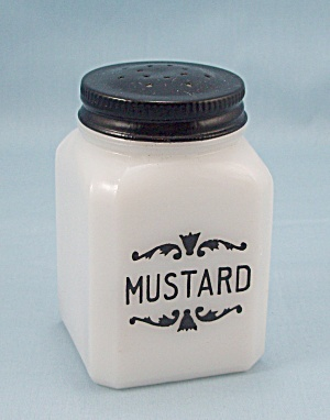 Mustard - Dove Spice Jar - Frank Tea & Spice Co.