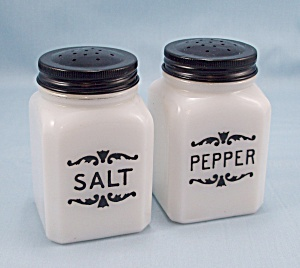 Salt & Pepper Shakers - Dove Spice Jars