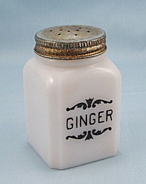 Ginger - Dove Spice Jar - Frank Tea & Spice Co.