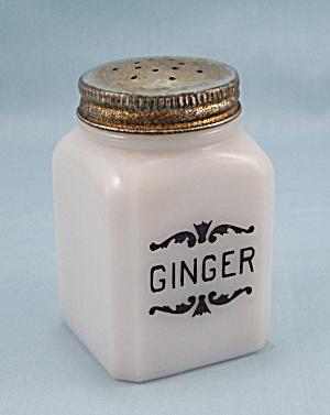 Ginger - Dove Spice Jar – Frank Tea & Spice Co. (Image1)