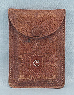 Vintage Leather Card Case