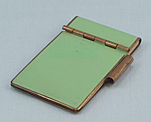 Enameled, Miniature Note Pad	 (Image1)