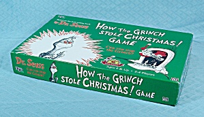 How the Grinch Stole Christmas! Game, University Games, 1997	 (Image1)