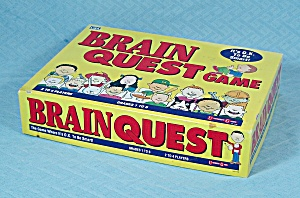 Brain Quest Game, University Games, 1993	 (Image1)