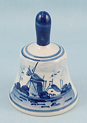 Delft Holland Miniature Bell	 (Image1)