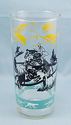 Federal Glass � Ice Tea Tumbler � Steeplechase (Image1)