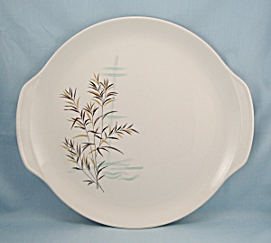Wild Rice, Salem China, Round Platter/Chop Plate 13Inches, 1959 (Image1)