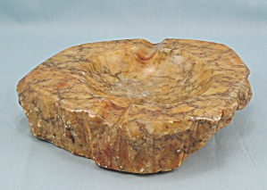 Polished Stone Ashtray	 (Image1)