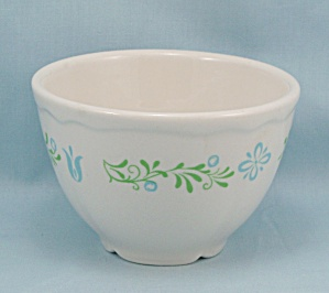 Homer Laughlin � Bouillon/ Custard Cup, Floral - Restaurant Ware    (Image1)