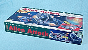 Electronic Alien Attack Game,premier Classic, 2000
