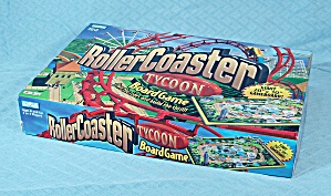 Roller Coaster, Tycoon Board Game, Parker Brothers, 2002