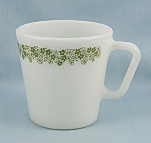 Pyrex - Coffee Mug/ Cup � No.1410 � Spring Blossom Green (Image1)